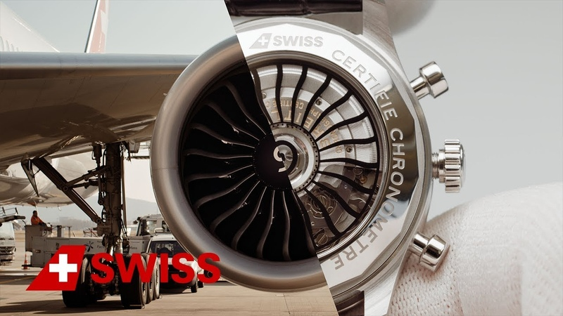 Aircraft engineer meets Breitling watchmaker SWISS