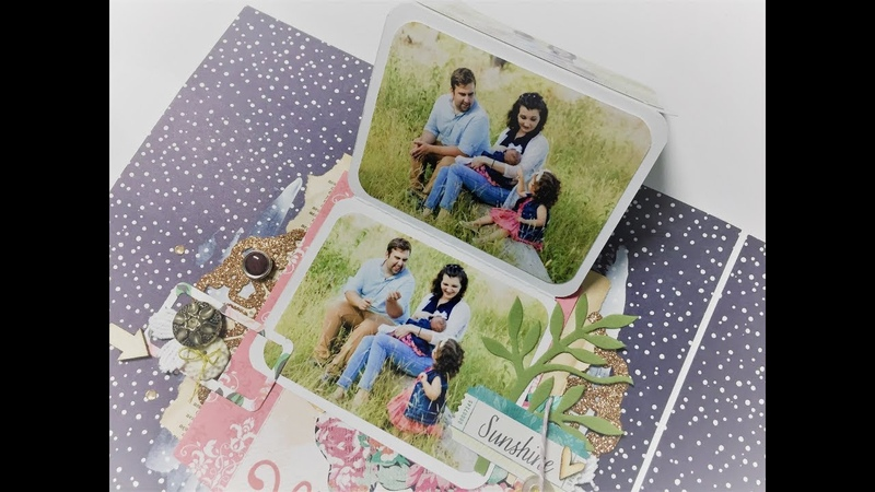 Family History | scrapbook album | Process video | by Ana Soares