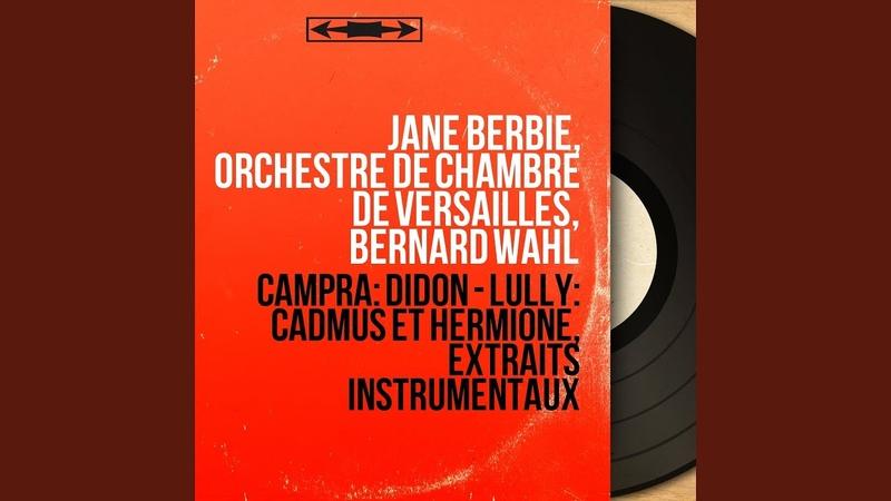 Premier livre de cantates françoises Cantate No 3 Didon Récitatif Didon avec