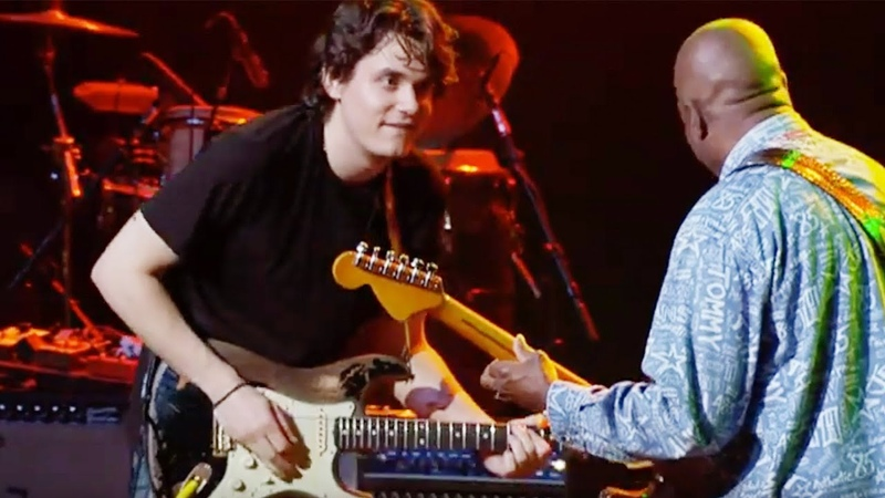 John Mayer Buddy Guy Phil Lesh and Questlove Hoochie Coochie Man Live The Jammys 2005