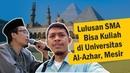 QnA Universitas Al-Azhar, Mesir - Apakah lulusan SMA bisa tetap kuliah di Universitas Al-Azhar ?