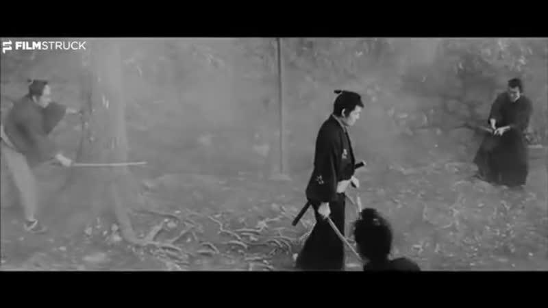 THE SWORD OF DOOM, Kihachi Okamoto, 1966 - Ambush