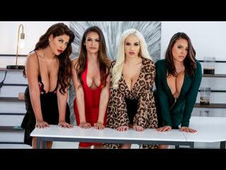BigTitsAtWork - 19 11 28 - Bridgette B, Katana Kombat, Luna Star, Victoria June - Office 4 - Play Latina Edition