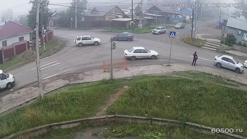 ДТП Усть-Кут ул. Халтурина - Дзержинского.