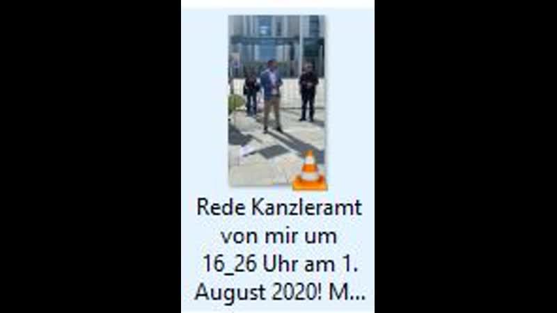 Rede Kanzleramt von mir um 16 26 Uhr am 1 August 2020 Merkels Apokalypse E