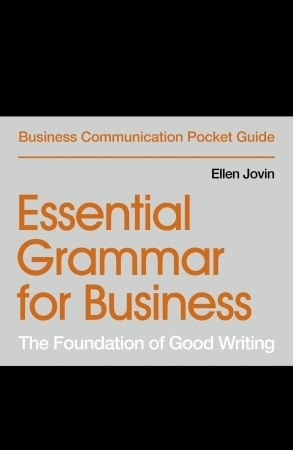 Essential Grammar for Business - Ellen Jovin