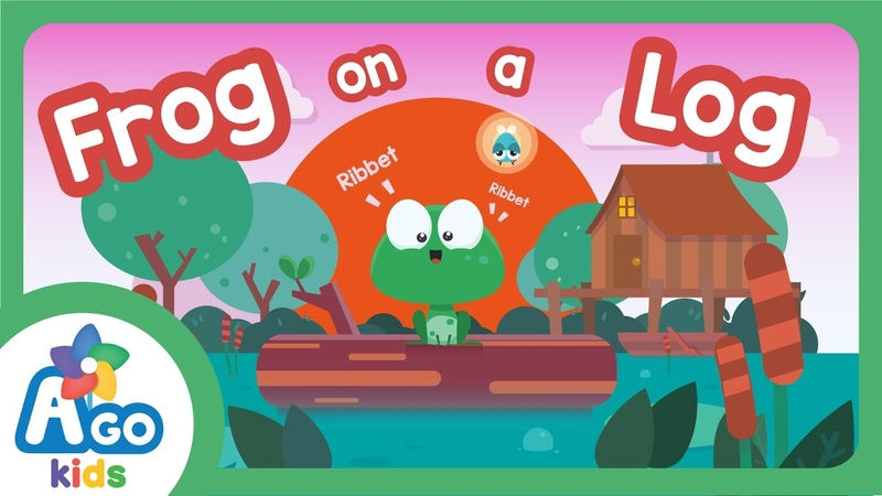 Frog on a Log Song There is There are BINGOBONGO Learning