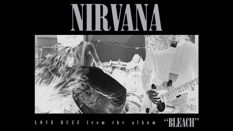 Nirvana - Love Buzz [LYRIC VIDEO Spanish/English] Subtitulado Español