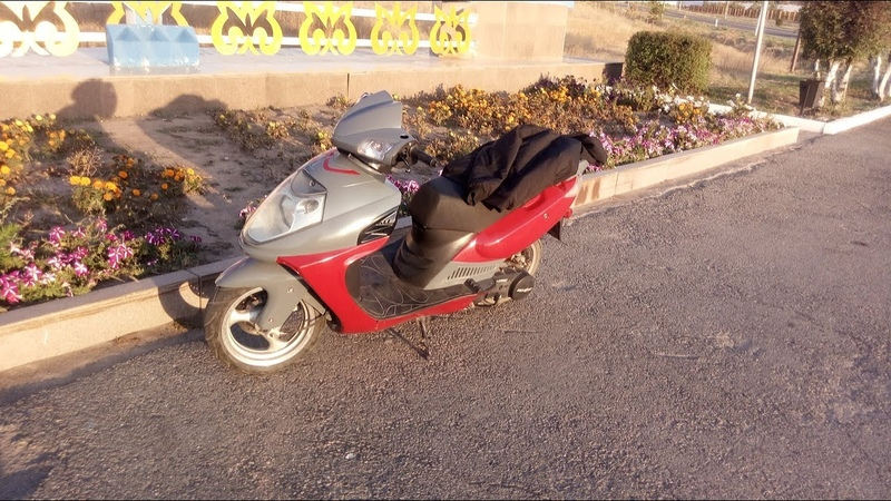 Восстановление Китайского Скутера 150cc Restoration Of A Chinese Scooter 150cc 157qmg gy6 152qmi