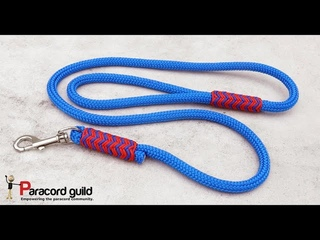 Rope dog leash- pineapple knot style