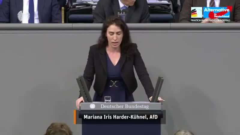 Die Rechte der Frauen sind aufgrund Ihrer Politik in Gefahr Mariana Harder Kühnel AfD