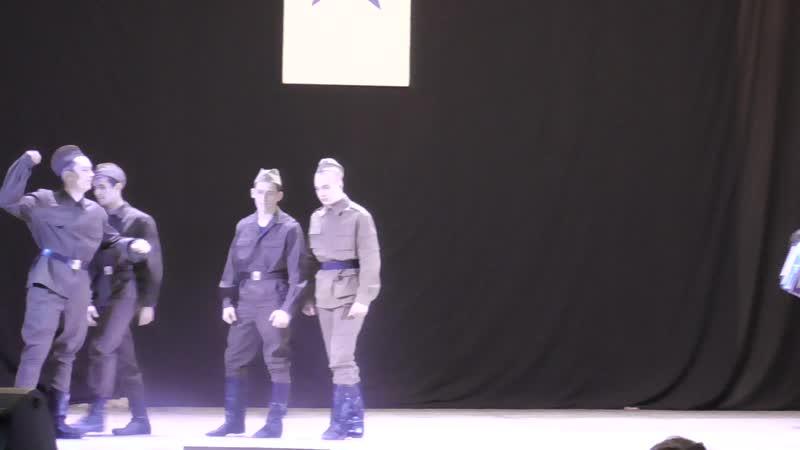 Отрывок из постановки на областном конкурсе Мы правнуки славной Победы