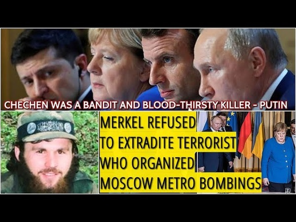 Putin Criticizes Double-Faced Merkel You Expelled Russian Diplomats, Russia Will Expell German Ones
