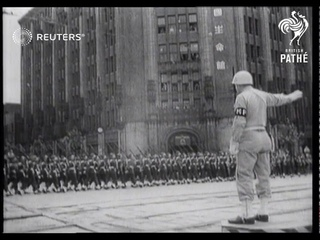 Britain celebrates Empire Day in Japan (1946)
