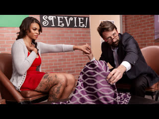 Halle Hayes - Hide The Pickle [Brazzers] Big Tits Ass Ebony Toys Dildo Blowjob Doggystyle Reverse Cowgirl Facial Porn