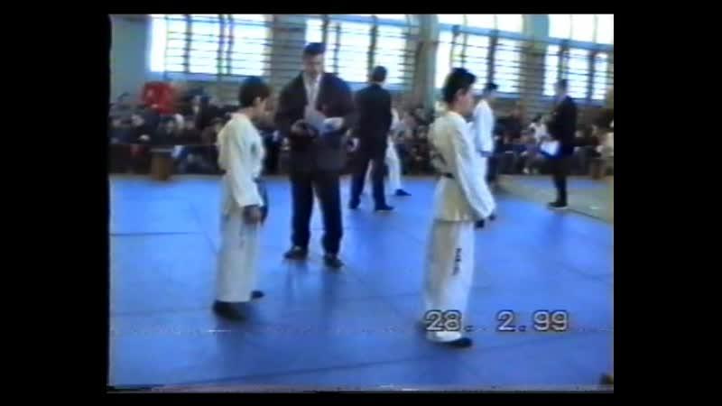 ЗОМБИР рук бой соревнования 1999 г февраль