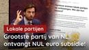 6 Lokale partijen krijgen geen cent subsidie van het partijkartel YouTube
