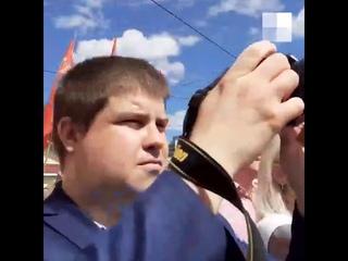 На Бору открыли памятник Сталину  