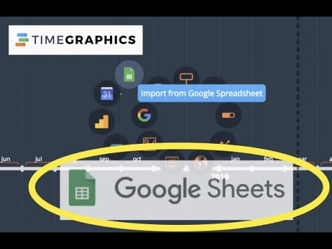 Import Add events from Google Spreadsheet Videobook timeline maker tutorial