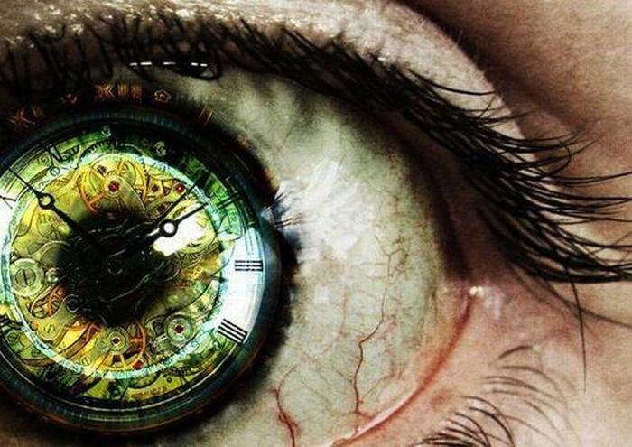 Картинки часы в глазах