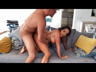 Audrey Black - Aubrey Spies On Horny Stepson [All Sex, Blowjob, Big Tits, MILF, Facial]