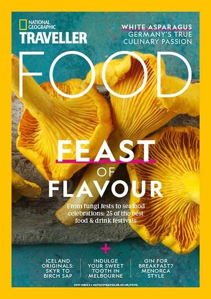 National Geographic Traveller UK Food 2 - September 2018