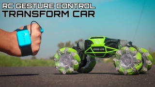 Gesture Controlled Rc Transformation Car - Offroad Car Unboxing & Testing