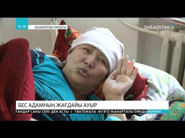 Самара Шымкент тас жолында болған жол апатынан зардап шеккен 74 адамның бесеуінің жағдайы ауыр