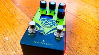 Free The Tone: MOTION LOOP ML-1L Pitch Shiftable Short Looper