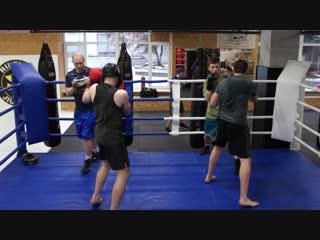 Клуб классического бокса андрея шишкова - тренировка от 12.12.18