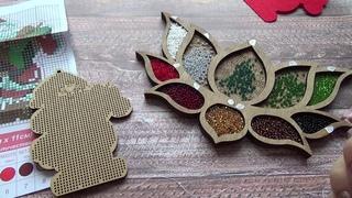 Как закрепить нитку при вышивке на деревянной заготовке