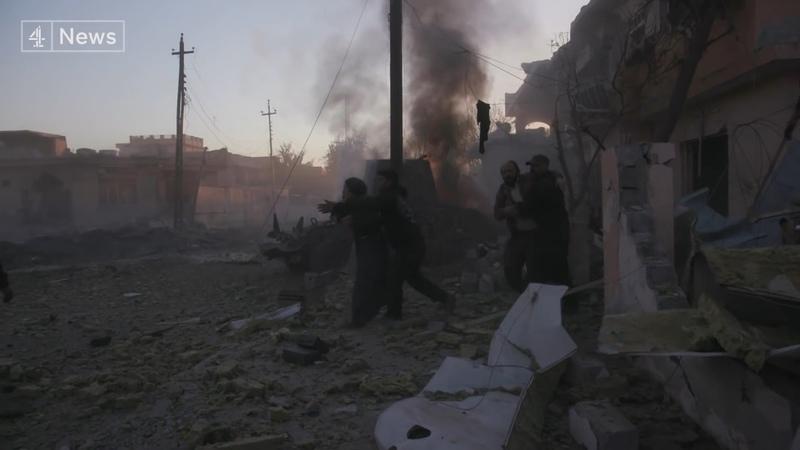 На передовой иракский спецназ в боях против ИГИЛ за Мосул Документальный фильм Русский перевод