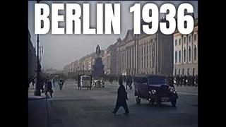 Berlin 1936 in color [4K] - Old videos colored