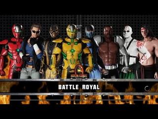 WWE 2K18 Mortal Kombat  Battle royal