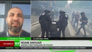 Policiers mis en examen pour violences lors d'un contrôle : Noam Anouar revient sur cette affaire