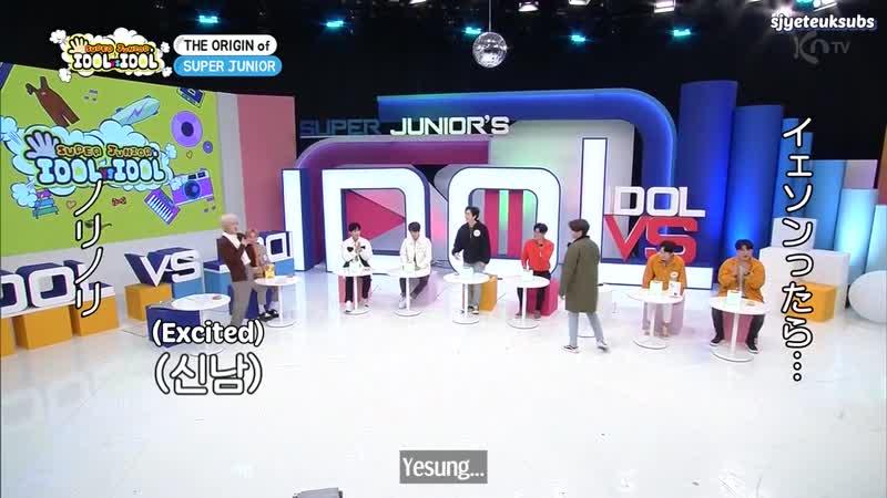 ENG SUB 201112 Super Junior Super Junior Ep17