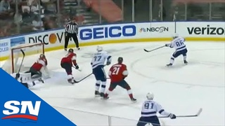 Nikita Kucherov Slots Home His Second Goal Of The Period Against Panthers