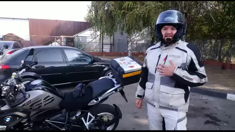 Мотоциклист Андрюха с Азова