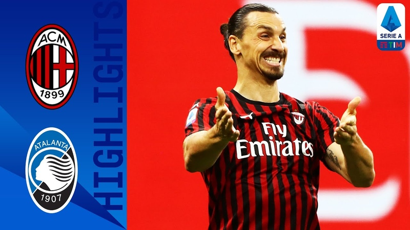 Milan 1 1 Atalanta Zapata Claims a Point for Atalanta after a Çalhanoğlu Worldie Serie A TIM