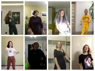 Танцевальный флешмоб, часть 1