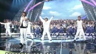[] KAT-TUN - Sora no Screen + rainbow in my soul (Shounen Club)