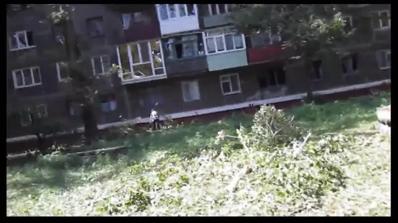 В результате обстрела ВФУ под огнем оказались жилые кварталы Горловки