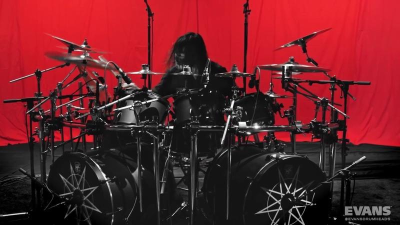 Jay Weinberg solo de bateria Slipknot