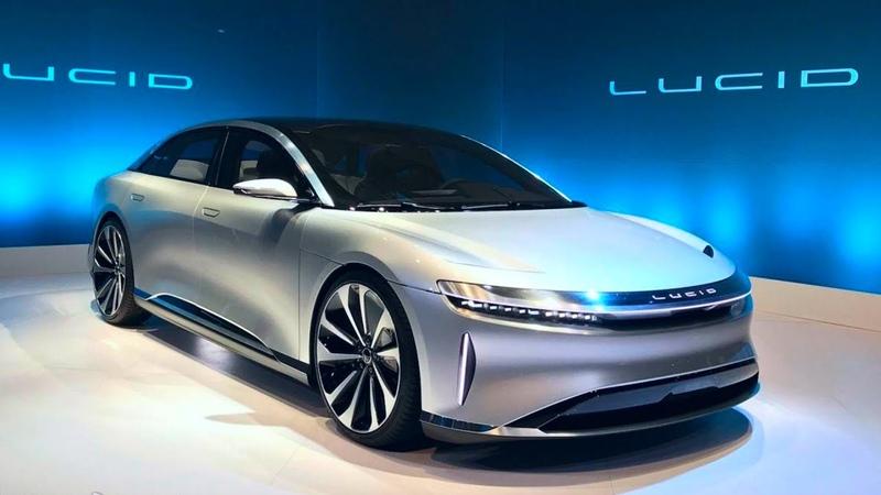 Lucid Air получил самую быструю зарядку среди электромобилей Электрокар Lucid Air