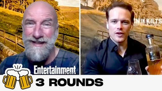 Three Rounds with 'Men in Kilts' Stars Sam Heughan & Graham McTavish | Entertainment Weekly