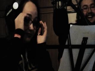 """Небольшой бэкстейдж с записи вокала на песню """"Черное солнце"""""""