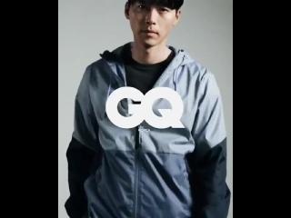 Hyun Bin x Under Armour for GQ Korea