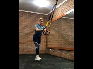 TRX Training Russia kullanıcısından video