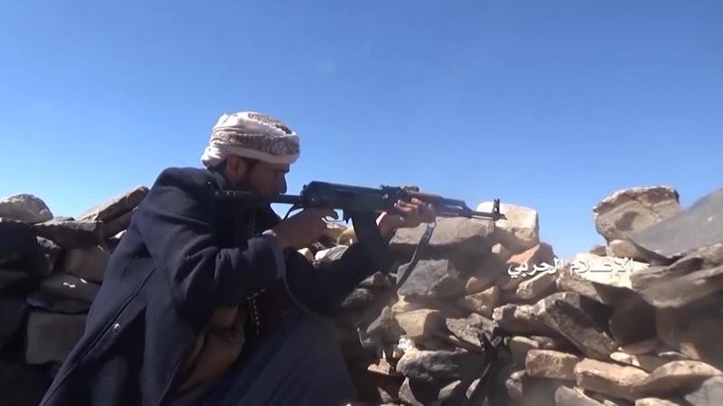 Хуситы атакуют хадистов в районе Кония, Бейда.