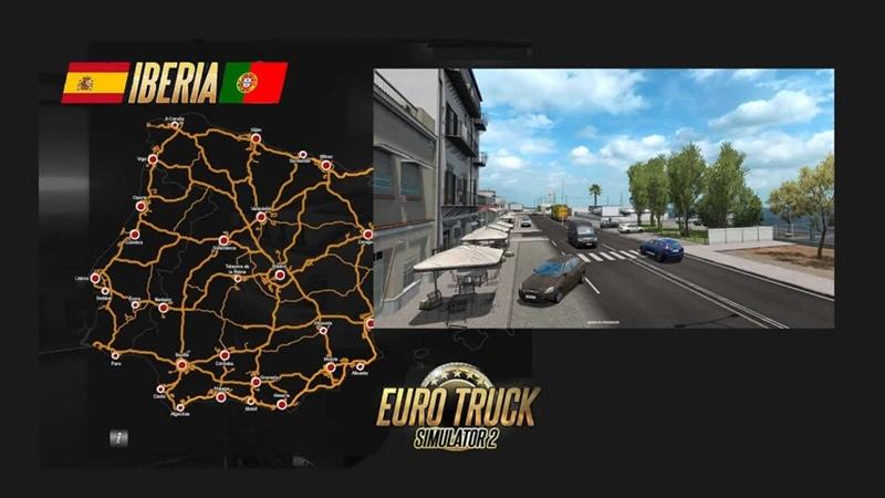 Euro Truck Simulator 2 1 40 DLC Иберия перевозка грузов Выполняем Ивент